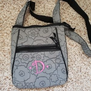 Handbags - Thirty-One Gray Quilted Poppy Crossbody
